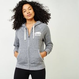 Roots zip up sweatshirt W/BONUS ITEM (see pics)